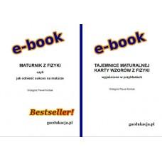 PROMOCJA! Podwójny e-book: MATURNIK i TAJEMNICE