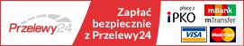U nas można płacić w systemie Przelewy24